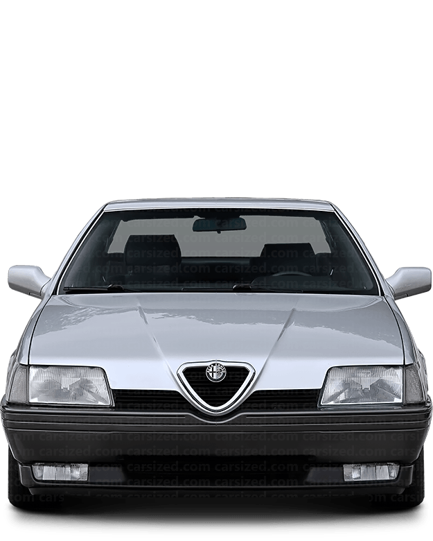 Alfa Romeo 164 Sedan 1987-1998 Front View