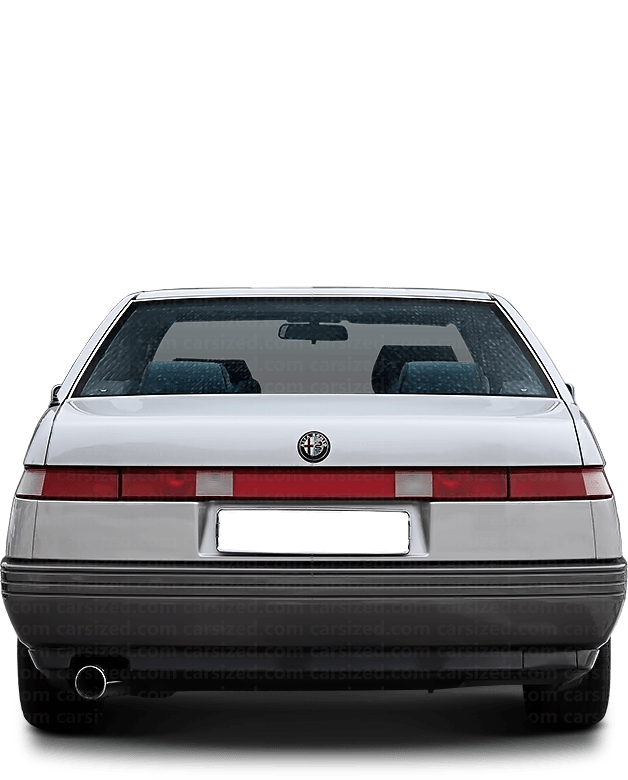 Alfa Romeo 164 Sedan 1987-1998 Rear View