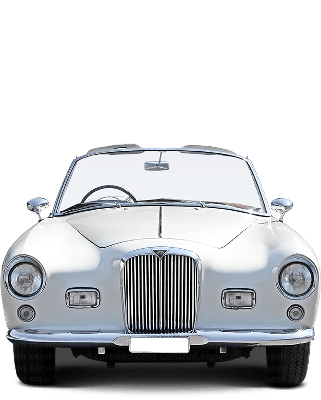 Alvis TC 108 Roadster 1956-1958 Front View