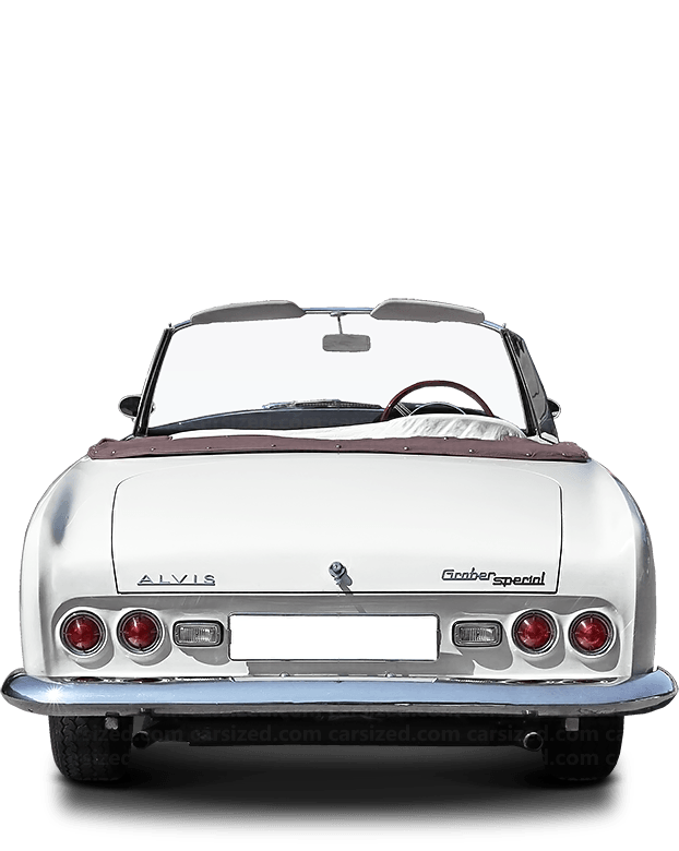 Alvis TC 108 Roadster 1956-1958 Rear View