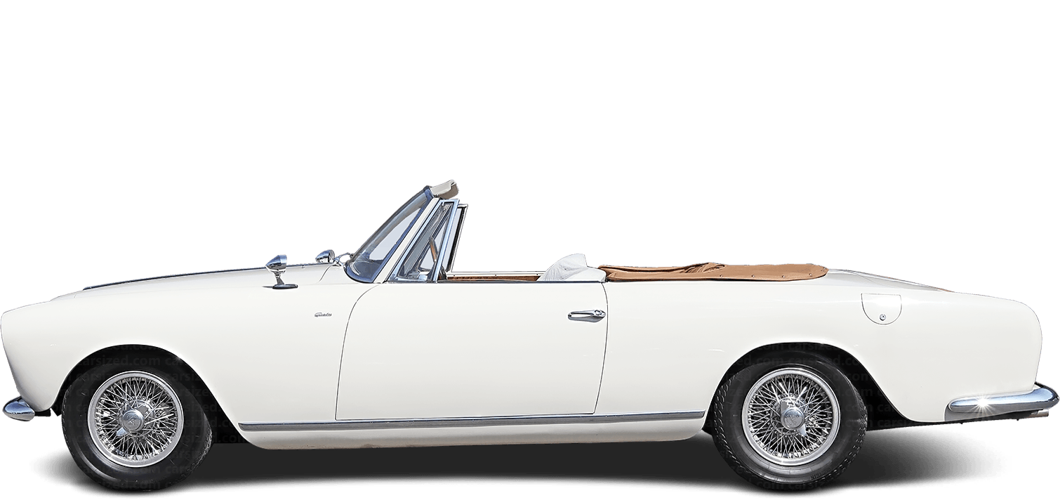 Alvis TC 108 Roadster 1956-1958 Side View