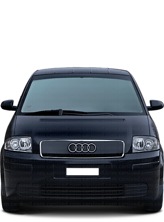 Audi A2 Hatchback 1999-2005 Front View