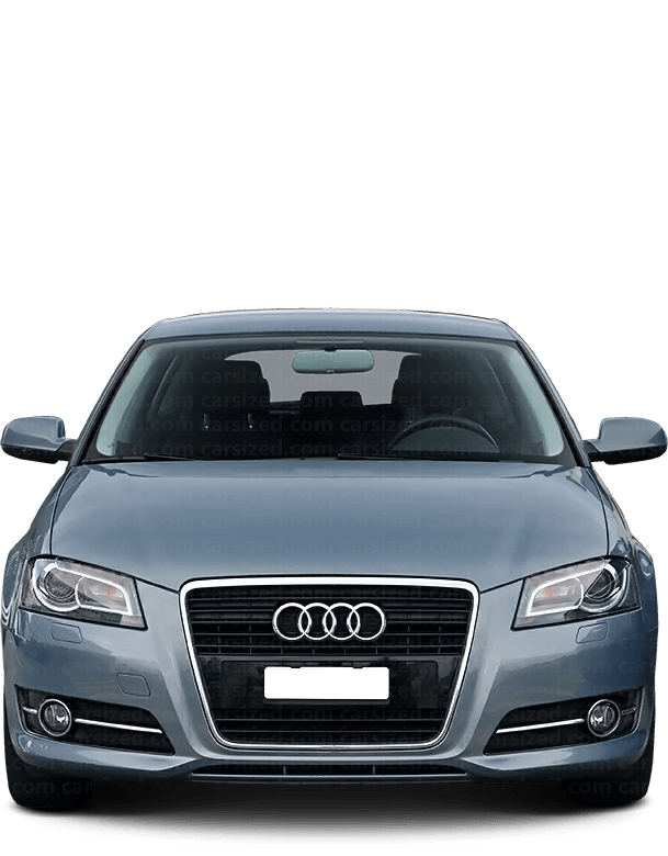 Audi A3 Hatchback 2003-2013 Front View