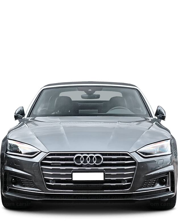 Audi A5 Cabriolet 2016-present Front View