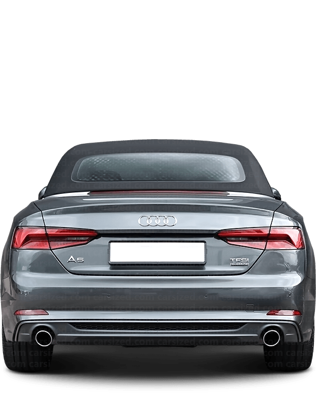 Audi A5 Cabriolet 2016-present Rear View