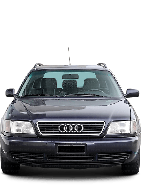 Audi A6 Estate 1994-1997 Front View