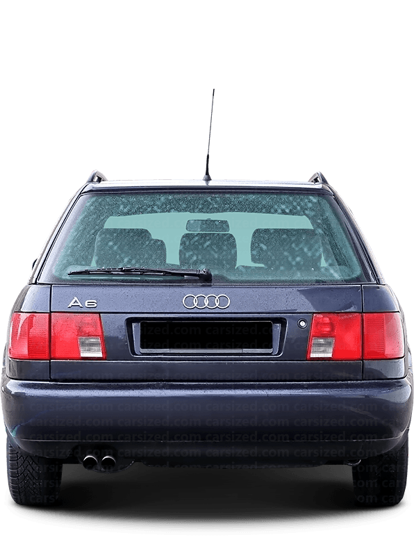 Audi A6 Estate 1994-1997 Rear View