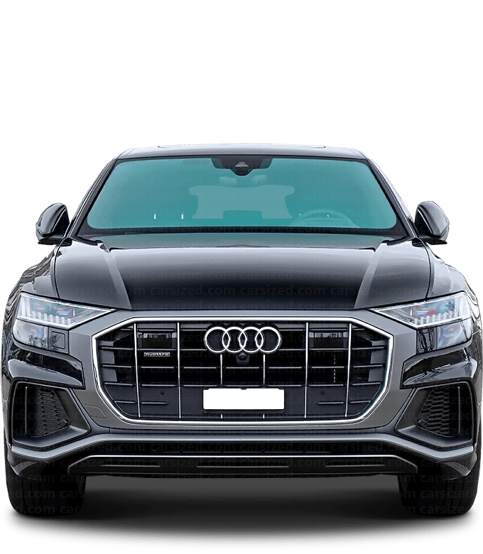 Audi Q8 SUV 2018-present Front View