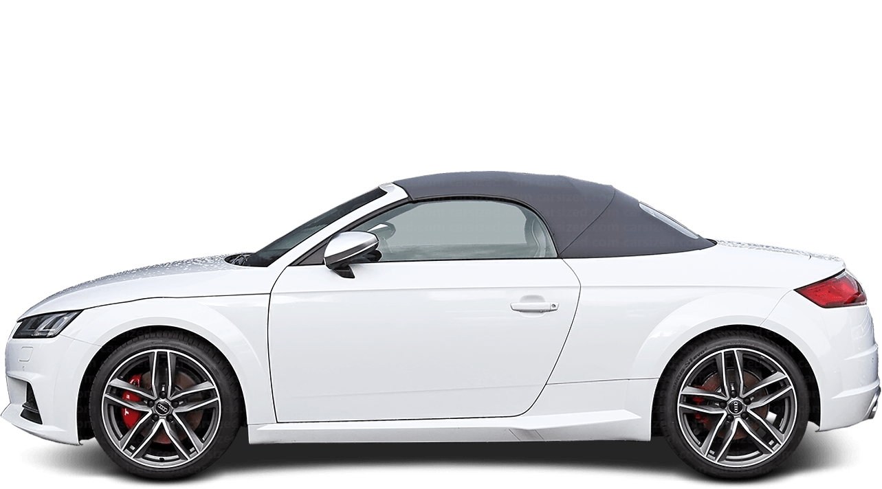Audi TT Roadster 2014-present Side View