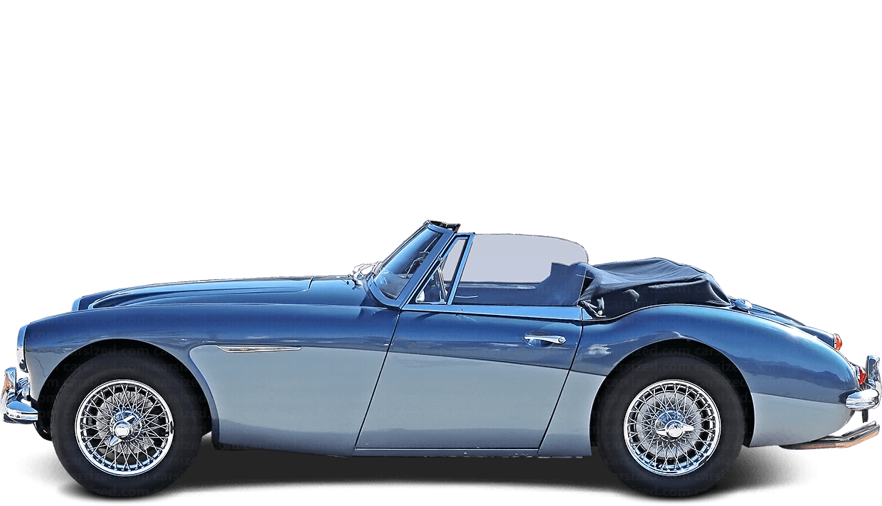Austin-Healey 3000 Roadster 1959-1967 Side View