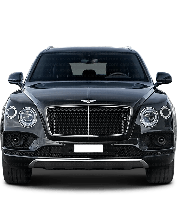Bentley Bentayga SUV 2015-present Front View