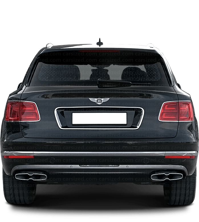 Bentley Bentayga SUV 2015-present Rear View