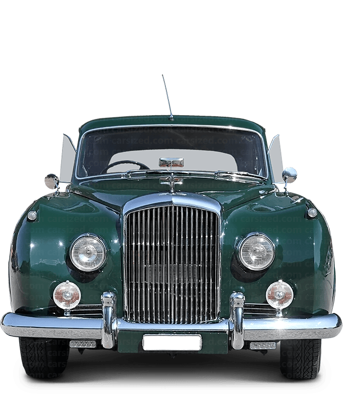 Bentley Continental Flying Spur セダン 1959-1962 正面図
