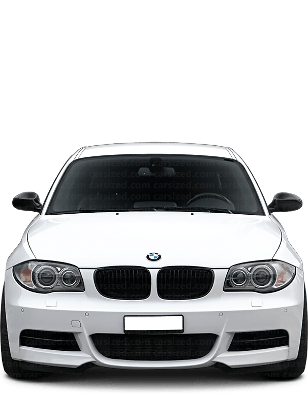 BMW 1 coupé 2007-2013 Front View