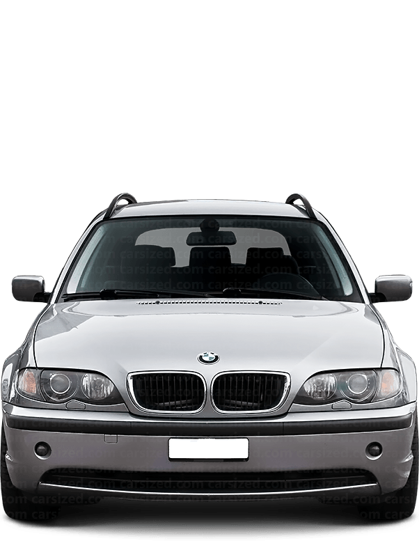 BMW 3 Estate 2001-2006 Front View