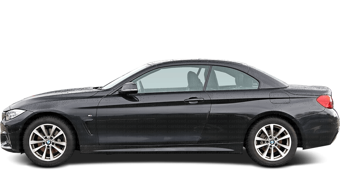 BMW 4 Cabriolet 2013-present Side View