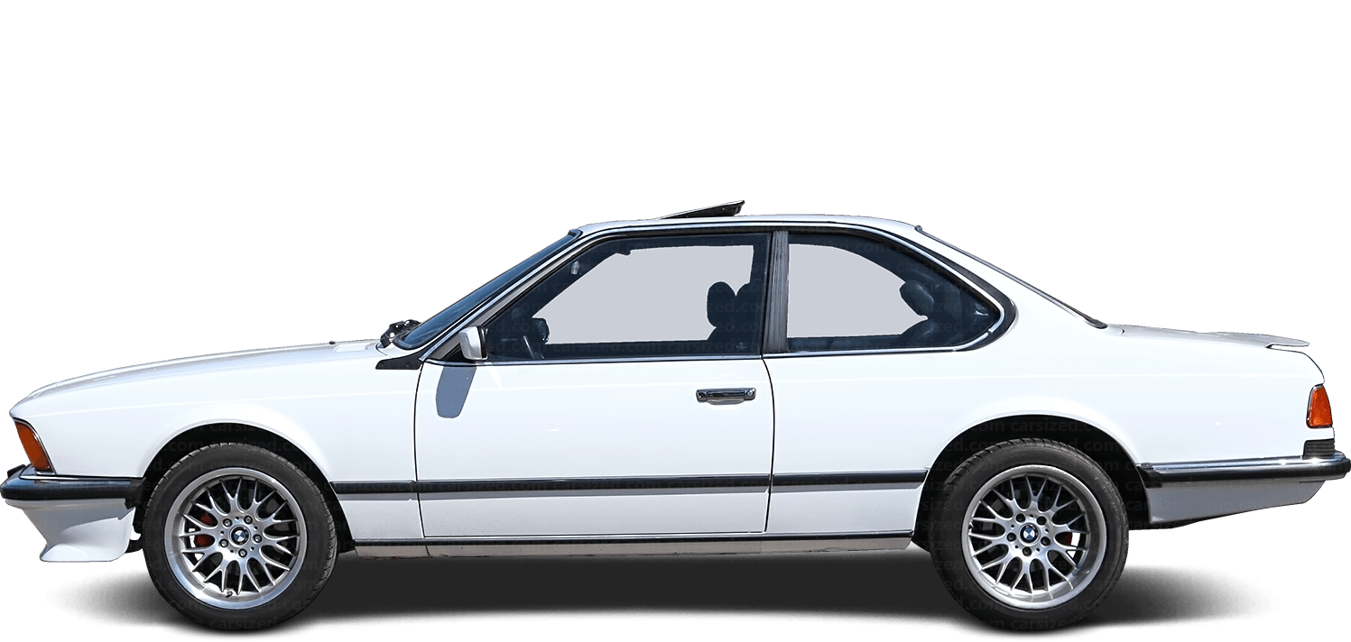 BMW 6 Series Coupé  1976 - 1989