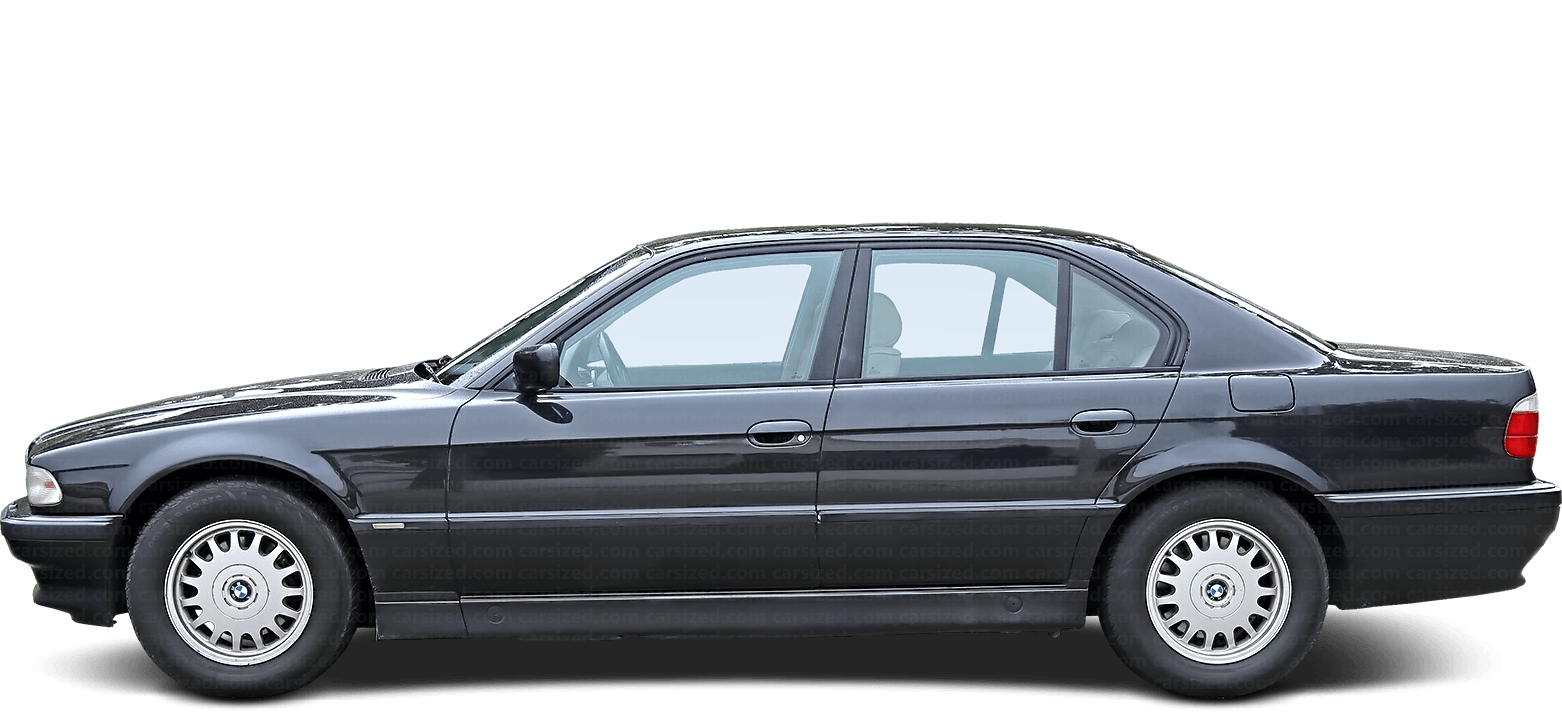 BMW 7 Sedan 1994-2001 Side View