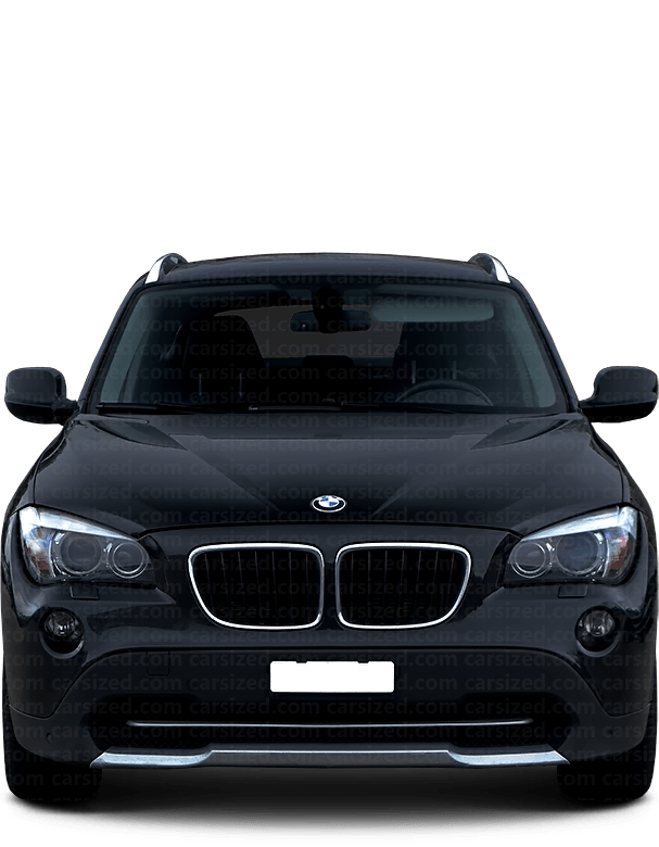 BMW X1 SUV 2011-2015 Front View