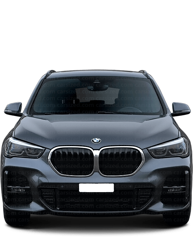 BMW X1 SUV 2015-present Front View