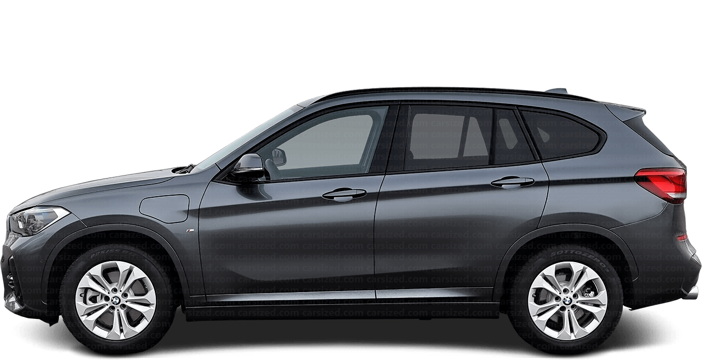 BMW X1 SUV 2015-present Side View