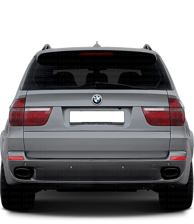 BMW X5 SUV 2006-2013 Rear View