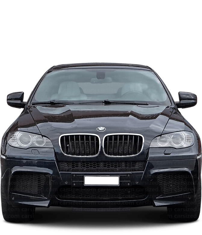BMW X6 SUV 2008-2014 Front View