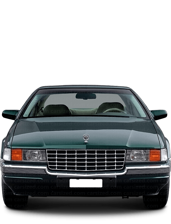 Cadillac Seville Sedan 1991-1997 Front View