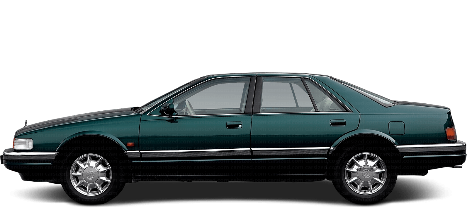Cadillac Seville Sedan 1991-1997 Side View