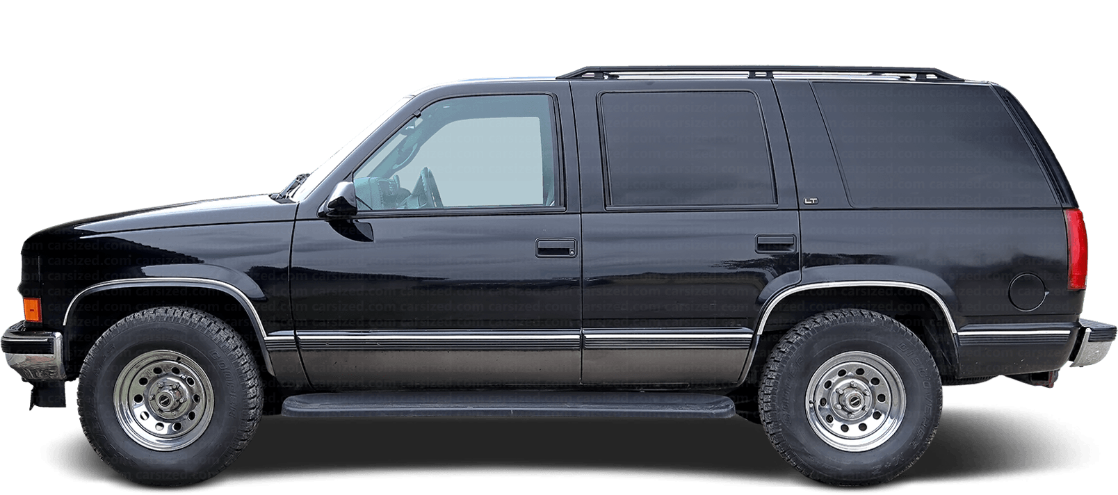 Chevrolet Tahoe SUV 1991-2000 Side View