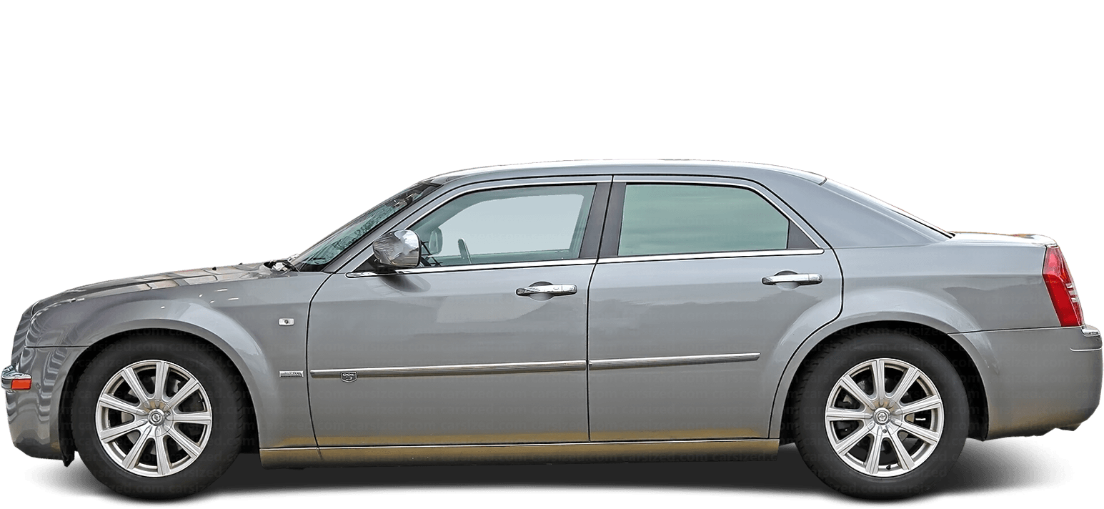 Chrysler 300 Sedan 2004-2010 Side View