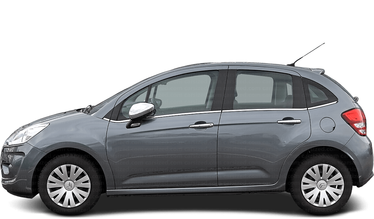 Citroën C3 5-door Hatchback  2009 - 2016