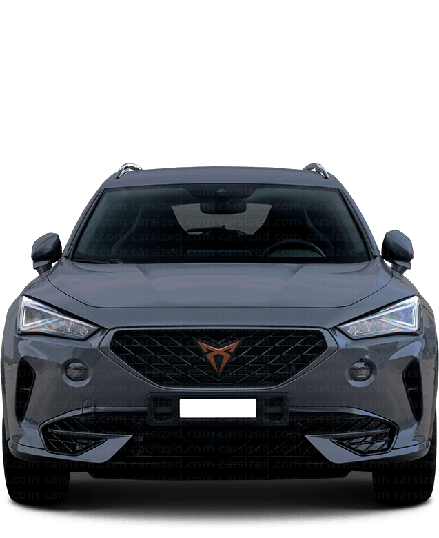 Cupra Formentor SUV 2020-present Front View