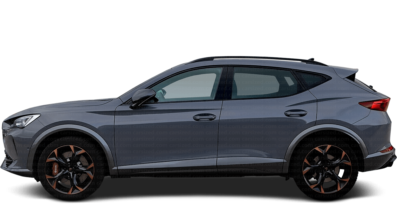 Cupra Formentor SUV 2020-present Side View