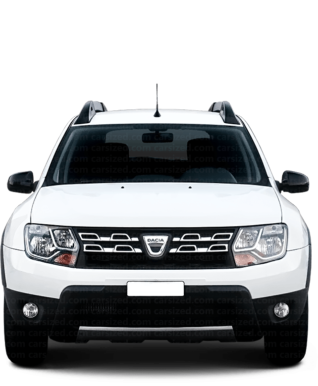 Dacia Duster SUV 2013-2017 Front View