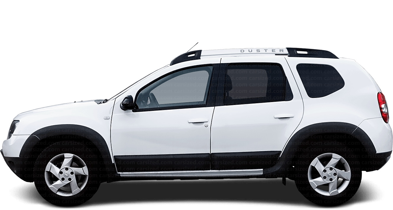 Dacia Duster SUV 2013-2017 Side View