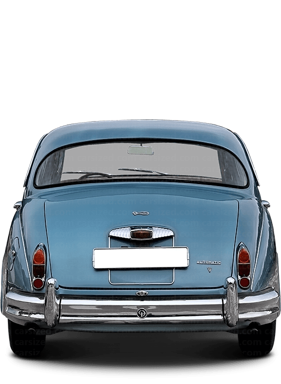 Daimler 250 V8 Sedan 1962-1969 Rear View