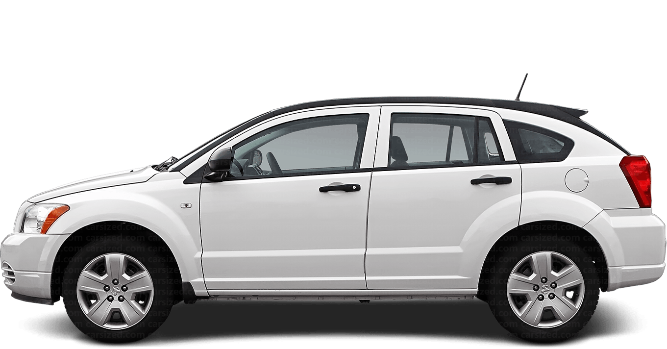 Dodge Caliber Hatchback 2006-2012 Side View