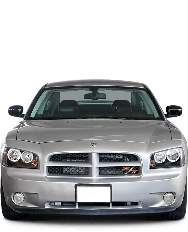 Dodge Charger Sedan 2006-2010 Front View