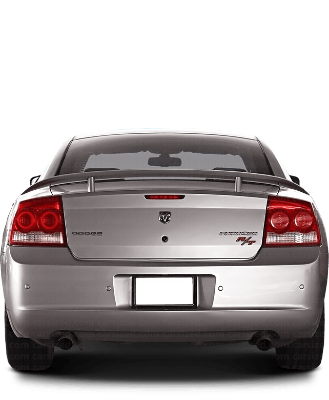 Dodge Charger Sedan 2006-2010 Rear View