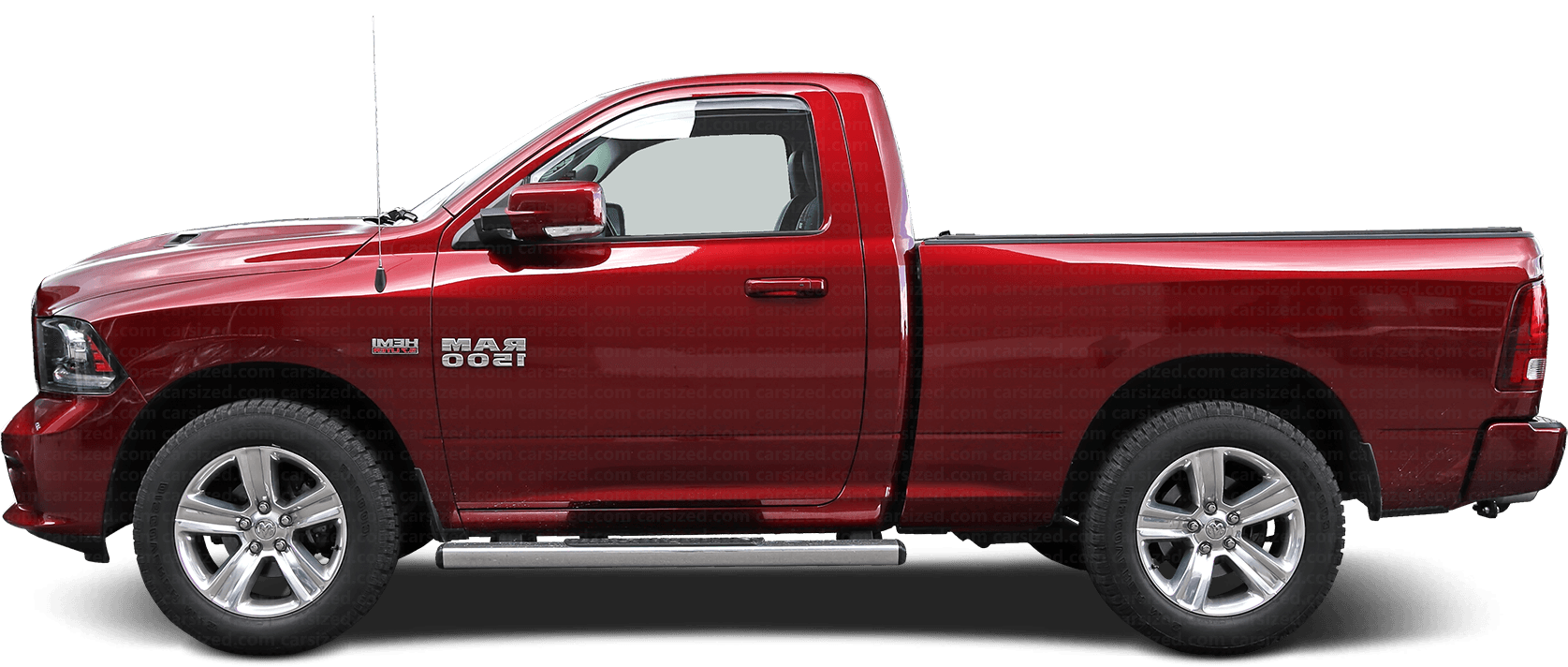 Dodge Ram Pick-up 2010-2019 Seitenansicht