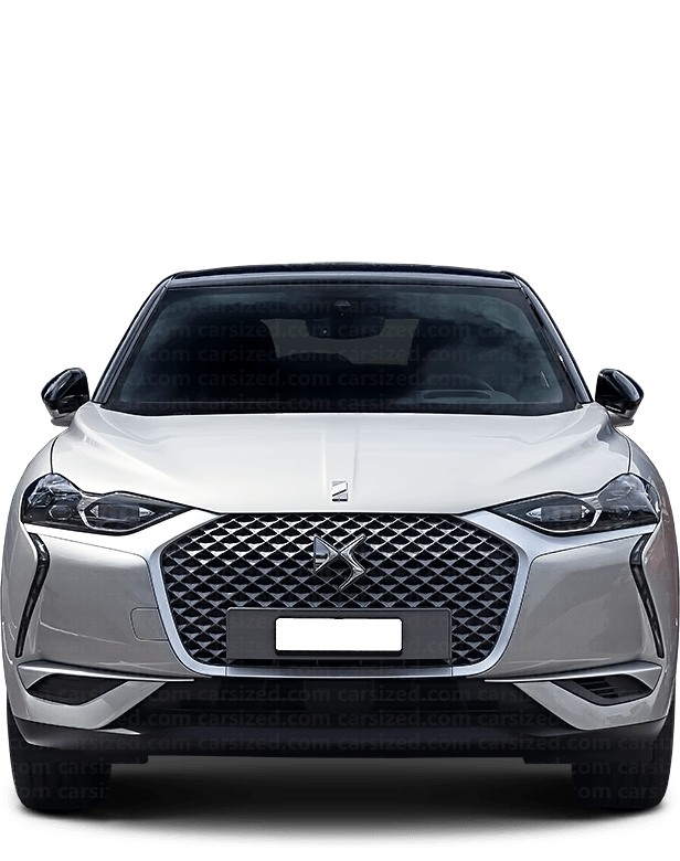 DS 3 Crossback SUV 2018-現在 正面図
