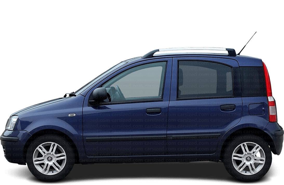 Fiat Panda 5-door Hatchback  2003 - 2012