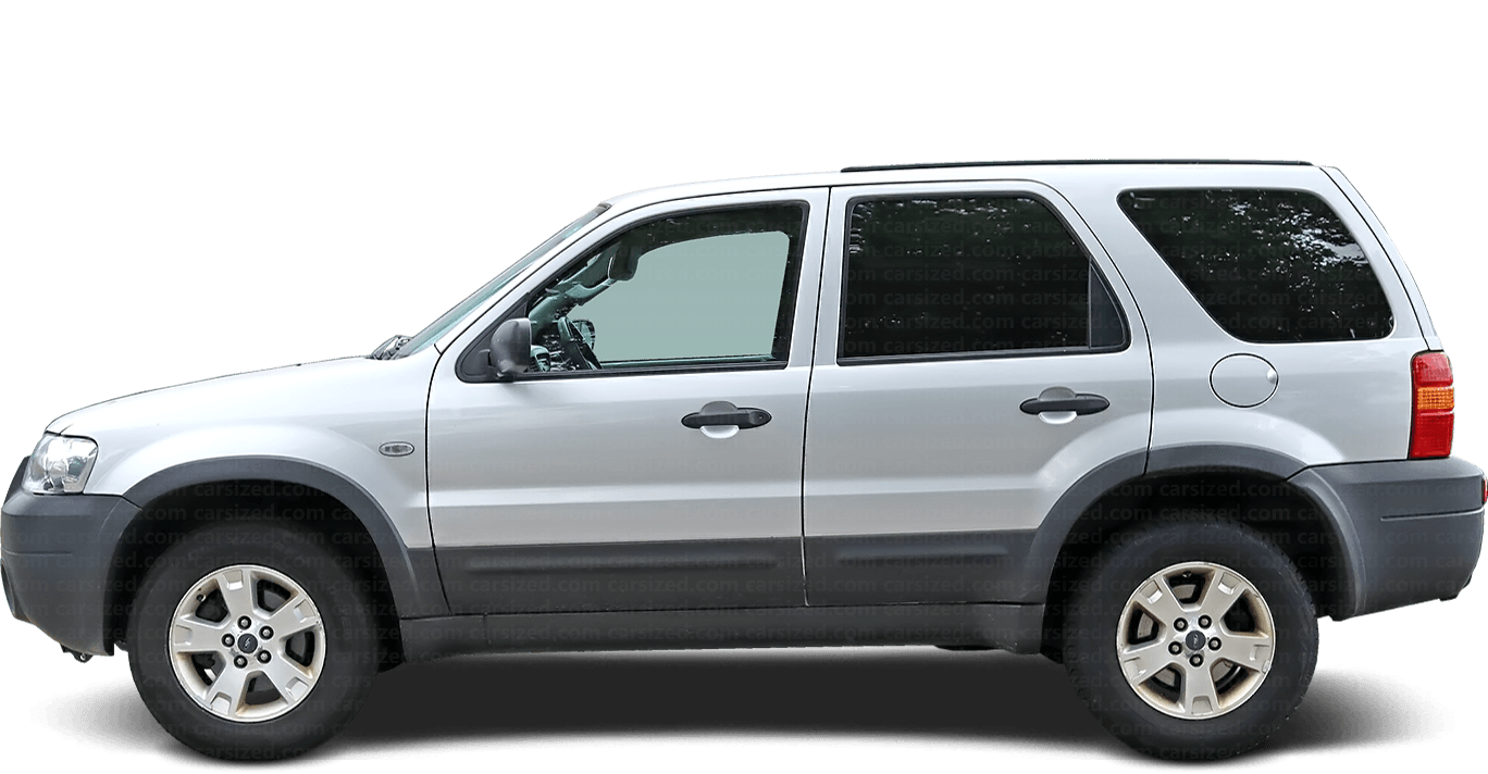 Ford Escape SUV 2000-2007 Side View