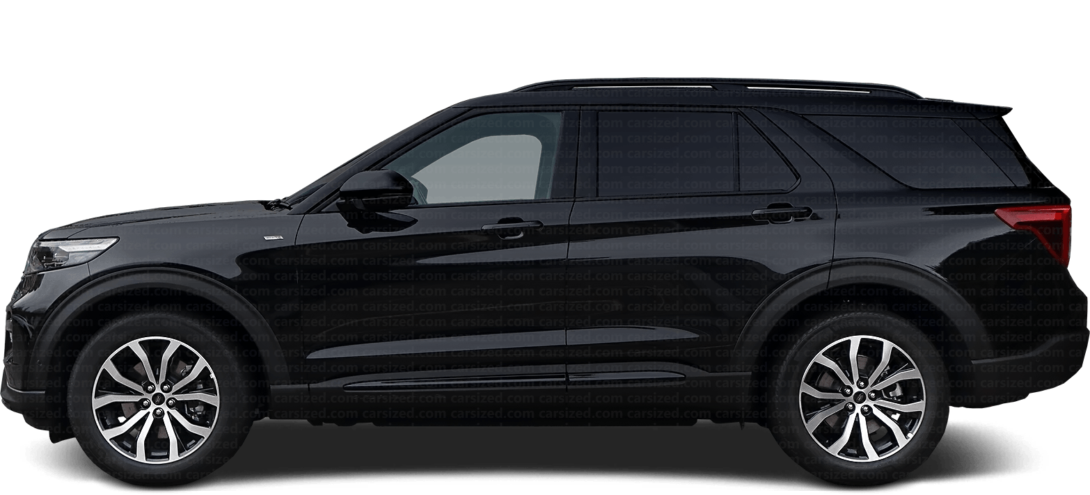Ford Explorer SUV 2019-present Side View