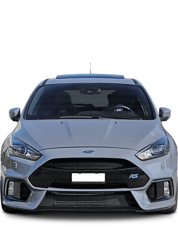 Ford Focus Hatchback 2013-2018 Front View