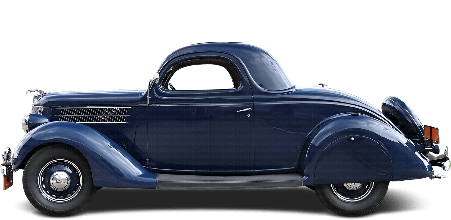 Ford Model 48 coupé 1935-1936