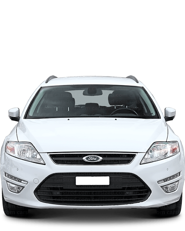 Ford Mondeo Estate 2007-2014 Front View