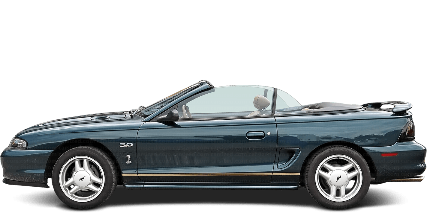 Ford Mustang 2-door Cabrio Cobra 1993 - 2004