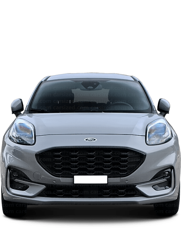 Ford Puma SUV 2019-present Front View